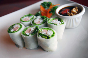 Fresh Basil Rolls - delivery menu