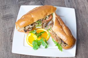 Pernil Sandwich on a Hero - delivery menu