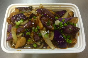 164. Eggplant with Garlic Sauce - delivery menu