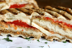 5P. Fresh Mozzarella Panini - delivery menu