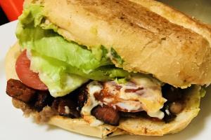 Torta de Chorizo - delivery menu
