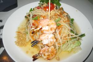 Grilled Shrimp Papaya Salad ** - delivery menu