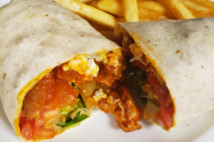 Buffalo Chicken Wrap - delivery menu