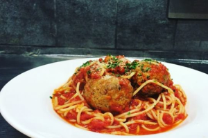 Pasta with Meatballs - delivery menu