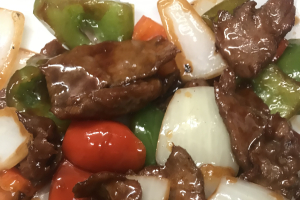 L25. Sliced Beef with Green Pepper Lunch Special - delivery menu