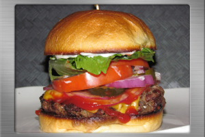 Angus Beef Burger - delivery menu