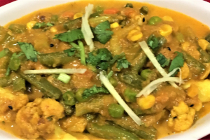 MIXED VEGETABL CURRY - delivery menu