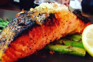 Wood-Fired Salmon - delivery menu