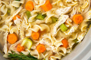Chicken Noodle Soup - delivery menu
