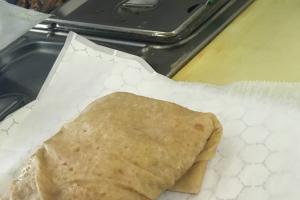 Chickpeas Roti Wrap - delivery menu