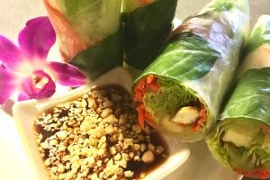 Thai Fresh Rolls - delivery menu