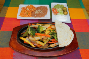 Grilled Vegetables Fajita - delivery menu