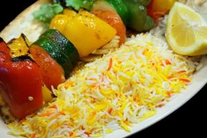 8. Veggie Kabob - delivery menu