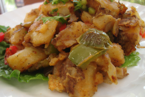 10B. Side of Home Fries - delivery menu