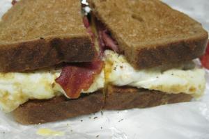 2 Egg White Breakfast Sandwich - delivery menu