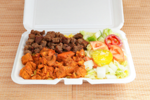 Combo Platter - delivery menu
