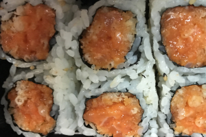 Crunchy Spicy Salmon Roll - delivery menu