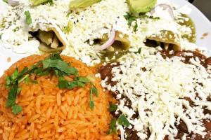 Chicken Enchilada verde - delivery menu