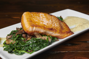 Alaskan King Salmon - delivery menu