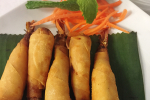 3. Shrimp in Blanket - delivery menu