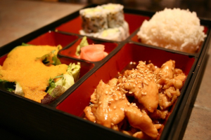 Bento Box - delivery menu