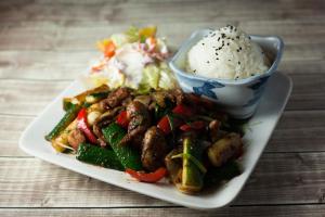 Teppanyaki - delivery menu