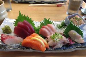 Aquarium Sashimi - delivery menu