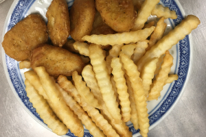 811. Kids Chicken Nugget and French Fries - delivery menu