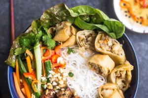 B3. Bun Cha Gio Thit Heo Nuong - delivery menu