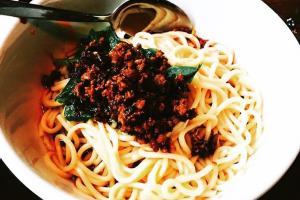 901. Dan Dan Noodle - delivery menu