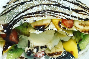 Mixed Fruit Crepe - delivery menu