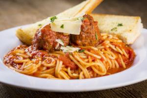 Spaghetti and Meatballs - delivery menu