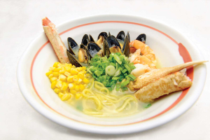 Seafood Ramen - delivery menu