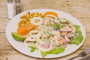 81. Ceviche de Camaron Mexicano - delivery menu