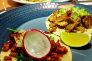 Chorizo con Huevo Tacos - delivery menu