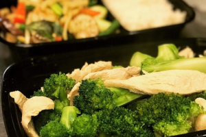 Steamed Broccoli with Chicken Special - delivery menu