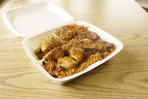 Curry Chicken - delivery menu