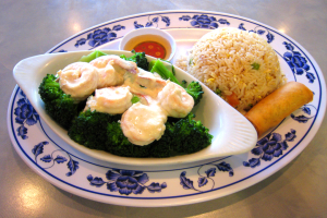 D3. Milky Shrimp Dinner - delivery menu