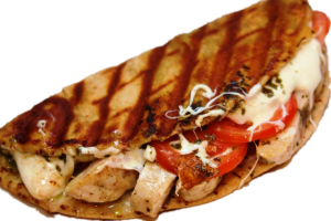 13. Grilled Chicken Club Panini Combo - delivery menu