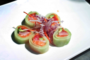 Cucumber Skin Roll A - delivery menu