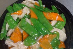 88. Chicken with Snow Peas - delivery menu