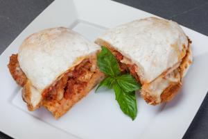 #6 Chicken Parmesan Sandwich - delivery menu
