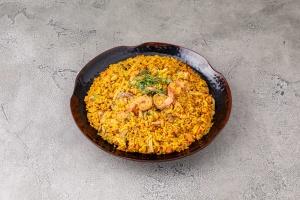 Spanish Rice with Seafood - delivery menu