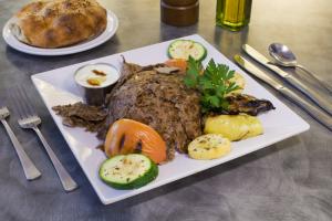 Doner Kebab Platter - delivery menu