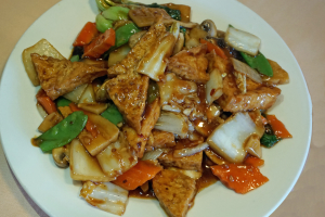 42. Family-Style Bean Curd in Brown Sauce - delivery menu