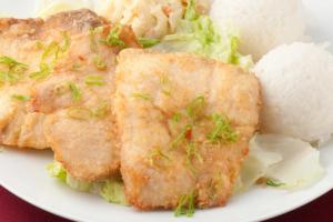 87. Fried Fish Burger - delivery menu