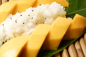 Sweet Rice with Mango - delivery menu