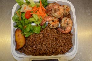 Jerkin Shrimp Lunch - delivery menu