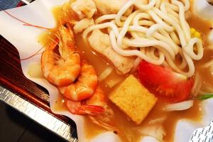 P6. Seafood Paper Hot Pot - delivery menu
