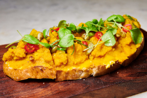 Ricotta & Kabocha Toast - delivery menu